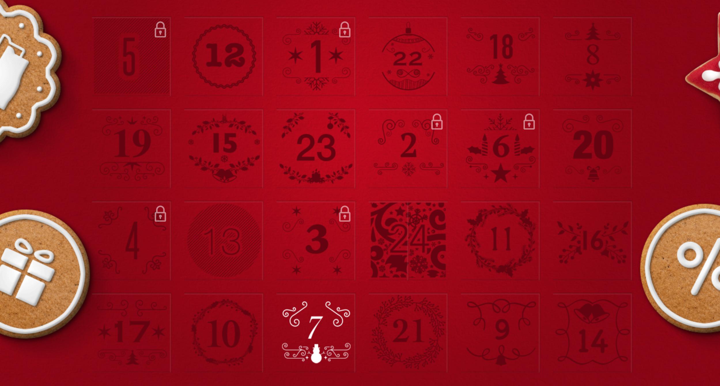Bata adventní kalendář