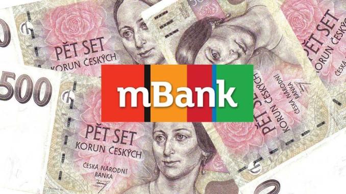 mBank založení účtu